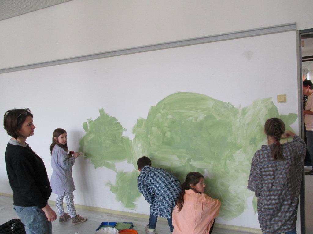 Weiße Wand 2